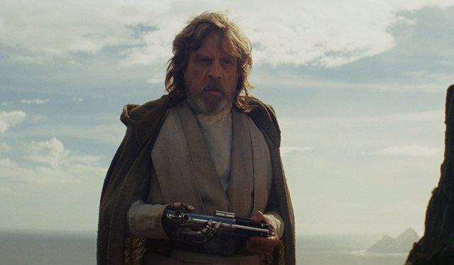 Mark Hamill en 'Star Wars: Los últimos Jedi'