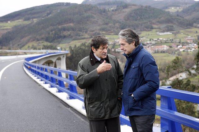 Javier Fernández e Iñigo de la Serna
