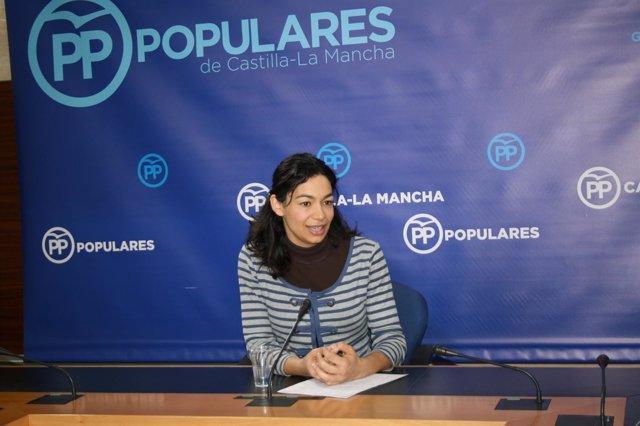 Gpp Clm (Cortes De Voz Y Fotografía) La Diputada Regional, Claudia Alonso, En Ru