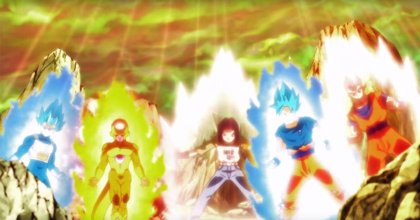 Dragon Ball Super 121: El épico momento con Goku, Vegeta, Gohan, Freezer y C-17 (VÍDEO)