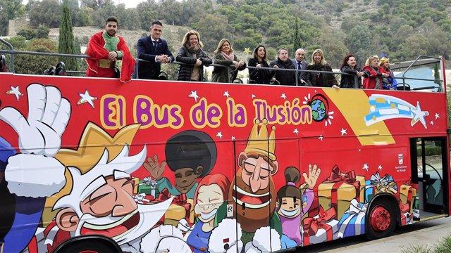 Presentación del bus de la Ilusión