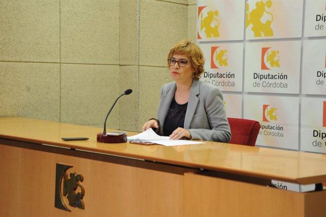Marisa Ruz, en rueda de prensa