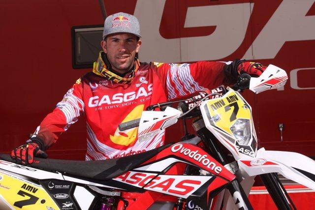 El piloto español Jonathan Barragán, del GasGas Team