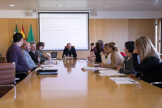 Junta de gobierno de la Diputación.