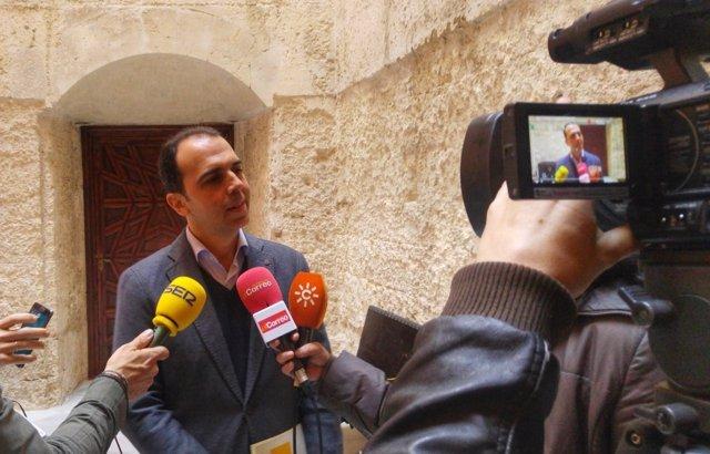 El portavoz de C's en Sevilla, Javier Millán
