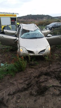 Accidente en Paterna (Cádiz)
