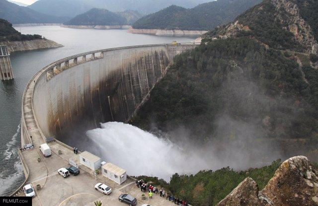 Central hidroeléctrica Susqueda, en la comarca de La Selva