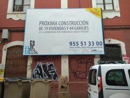 Nueva promoción inmobiliaria en la calle Pasaje Mallol.