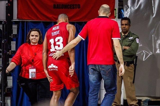 Gary Neal se lesiona con el Tecnyconta Zaragoza