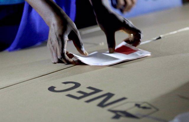 Segunda vuelta de las elecciones presidenciales en Liberia