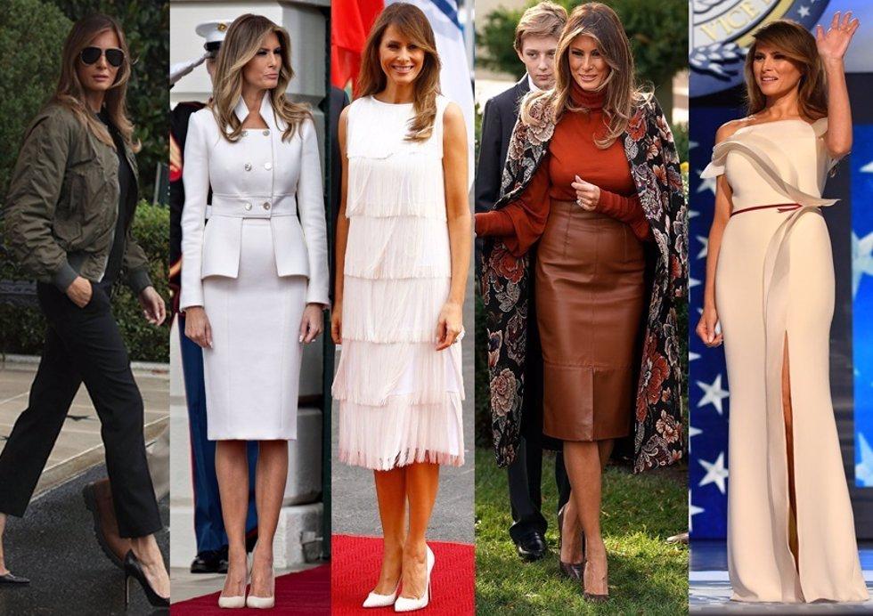 3d3729367 Melania Trump  Sus mejores looks de este año como Primera Dama