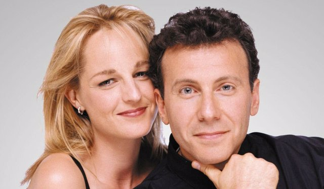 Paul Reiser y Helen Hunt en 'Loco por ti'