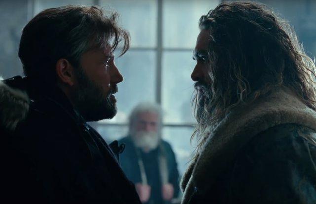 Batman (Ben Affleck) y Aquaman (Jason Momoa)