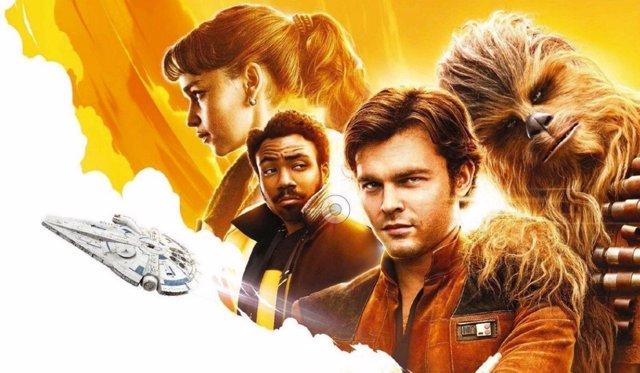Póster falso 'Solo: Una historia de Star Wars'