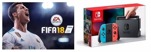 FIFA18 y Nintendo Switch