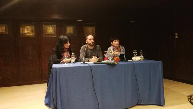 Andrés, Inés y Rocío de Frutos piden el cambio de la legislación de menores