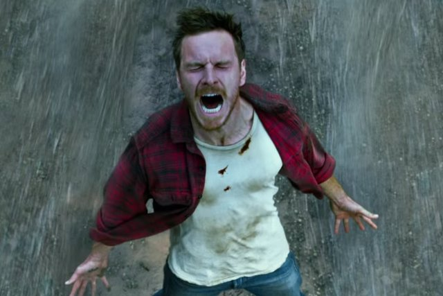 Michael Fassbender como Magneto en X-Men: Apocalipsis