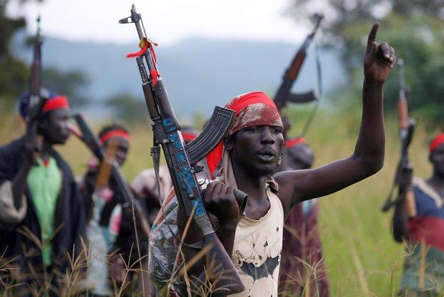 Combatientes del SPLA-IO