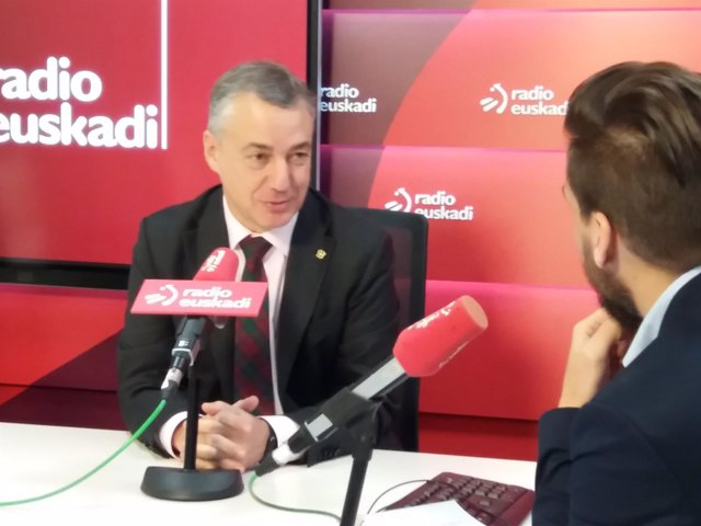 Iñigo Urkullu en Radio Euskadi