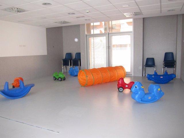 Aula de la Escuela Infantil del Parque Bruil de Zaragoza