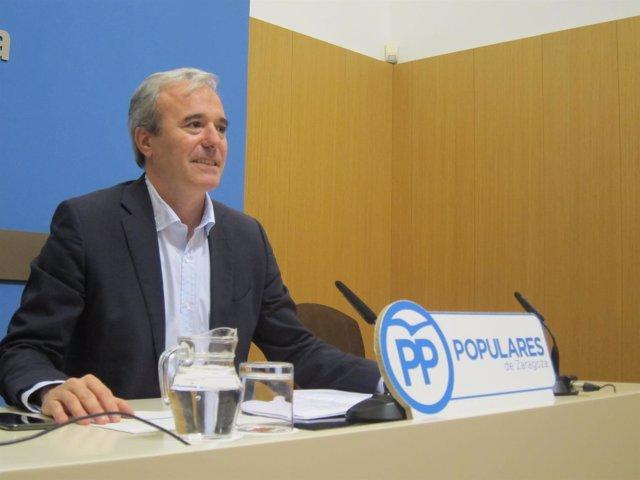 El portavoz del PP en el Ayuntamiento, Jorge Azcón