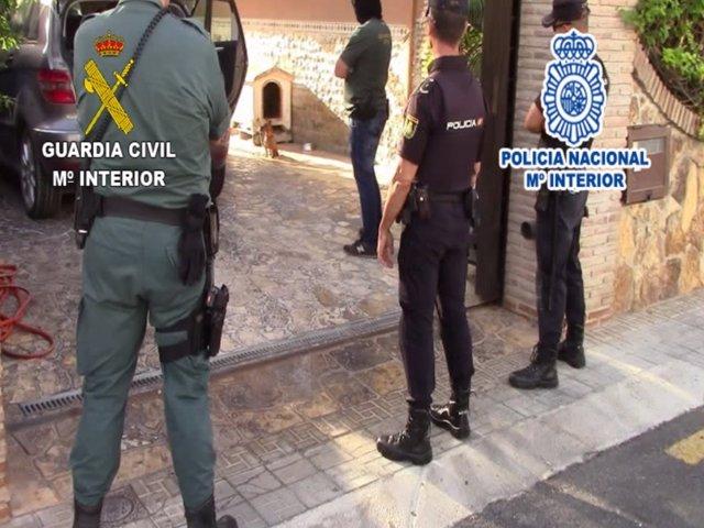 Operación red crimilar familiar venta estupefacientes málaga liderada mujeres
