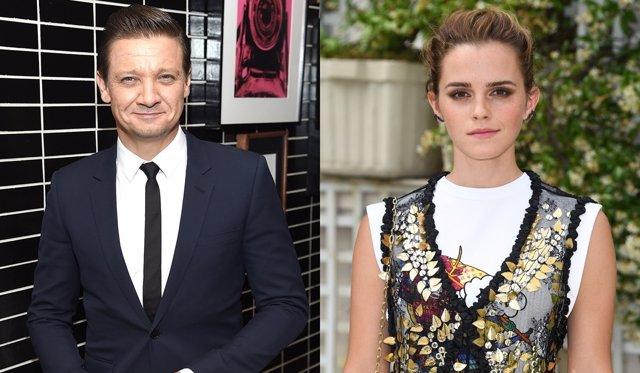 Jeremy Renner y Emma Watson