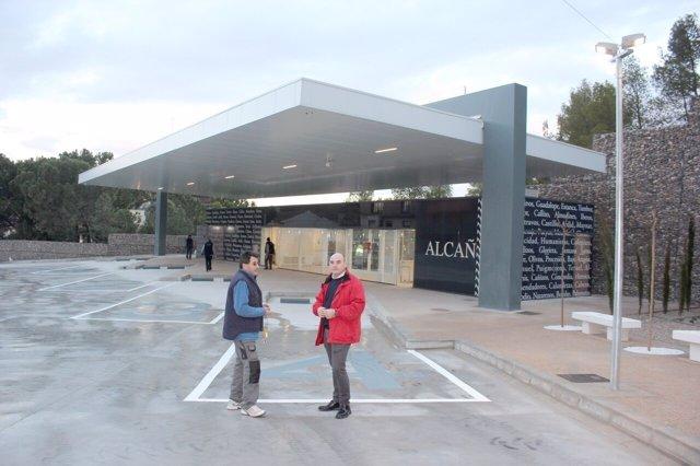 Nueva estación de autobuses de Alcañiz