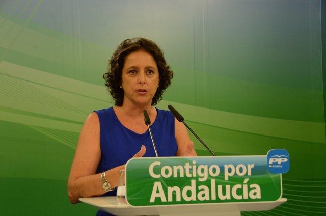 La diputada del PP-A Catalina García