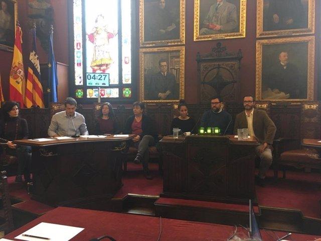 Pleno en Cort para aprobar el presupuesto de 2018