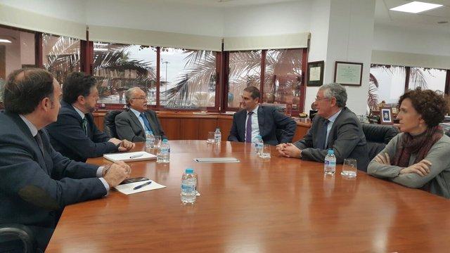 Reunión entre el Puerto de Huelva y el Puerto de Algeciras.