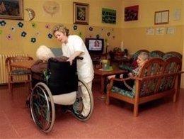 Residencia, geriátrico, anciano, centro de día
