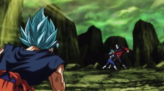 Vegeta vs. Jiren en Dragon Ball Super