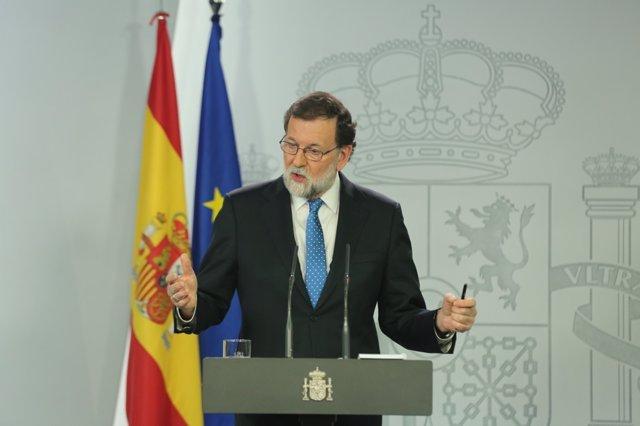 Rajoy comparece tras el Consejo de Ministros
