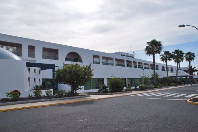 Imagen del Hospital José Molina Orosa de Lanzarote