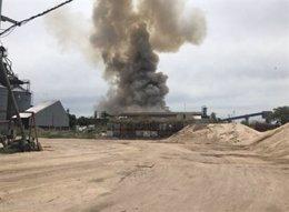Explosión San Martin