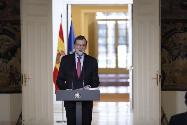 Mariano Rajoy hace balance del año tras el Consejo de Ministros