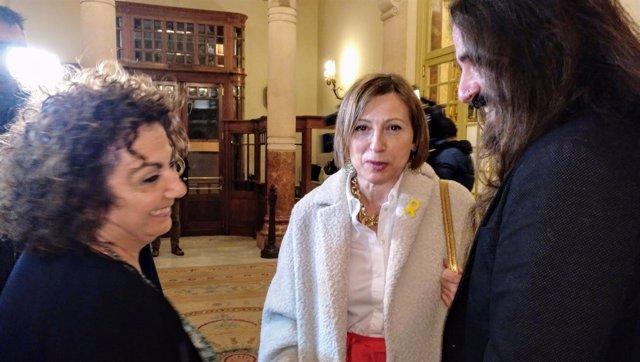 Forcadell Visita El Parlament Balear