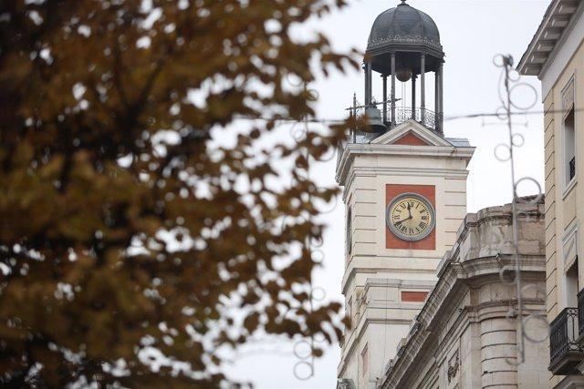 Reloj de la Puerta del Sol de Madrid, campanadas