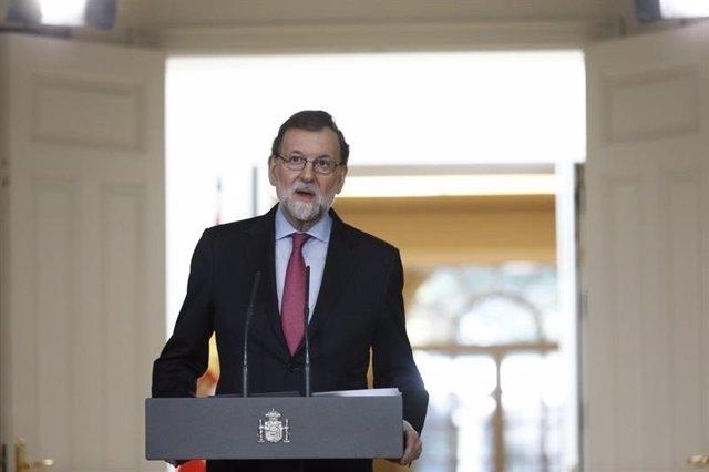 Balance de 2017 de Mariano Rajoy