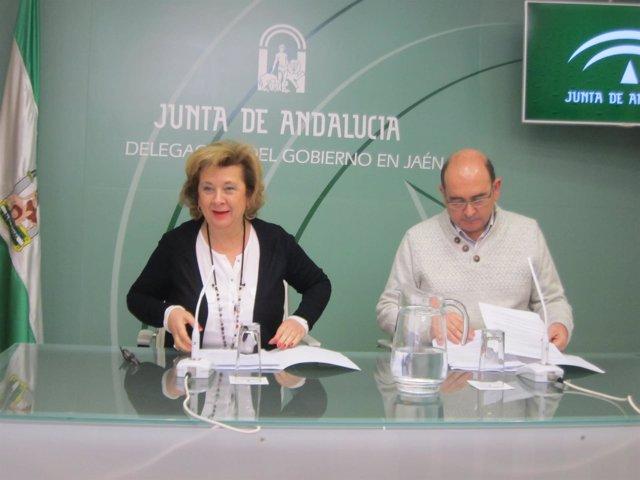 Teresa Vega y Antonio Resola