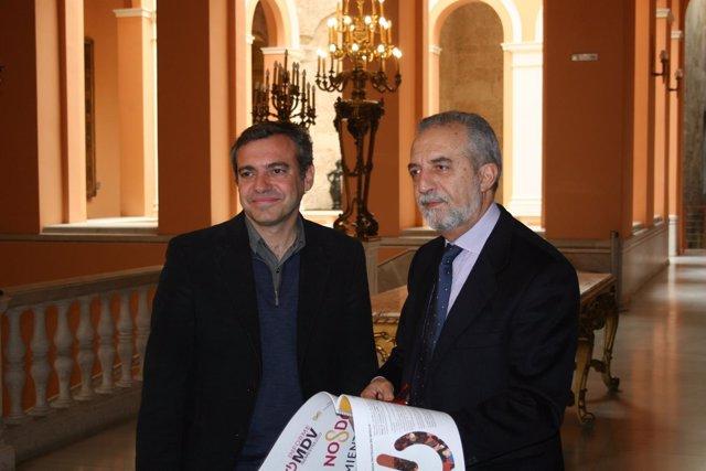 Juan Flores y Felipe Castro