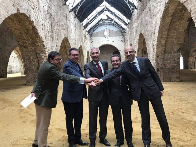 Junta y Adepa alcanzan un acuerdo sobre el proyecto de las Atarazanas de Sevilla