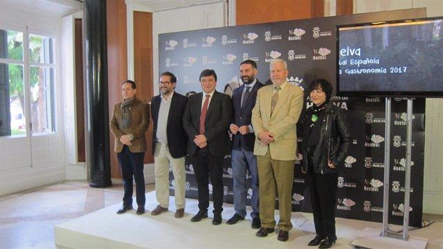 El consejero de Turismo, Francisco Javier Fernández, clausura de la Capitalidad.