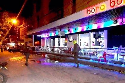 Al menos 43 heridos, 11 de ellos de gravedad, tras la explosión de una granada en una discoteca de Colombia