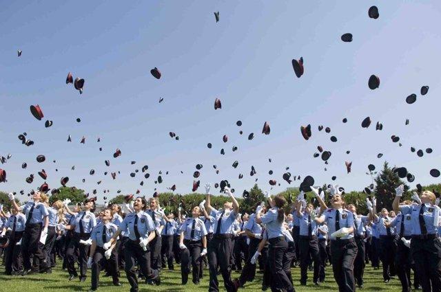 Acto de graduación de una promoción de Mossos (archivo)