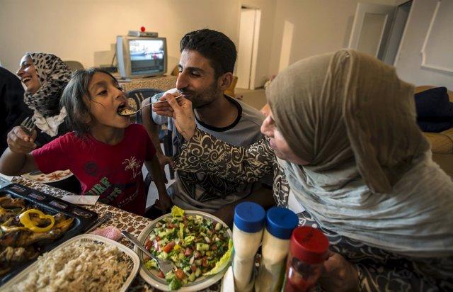 Familia islámica en Alemania