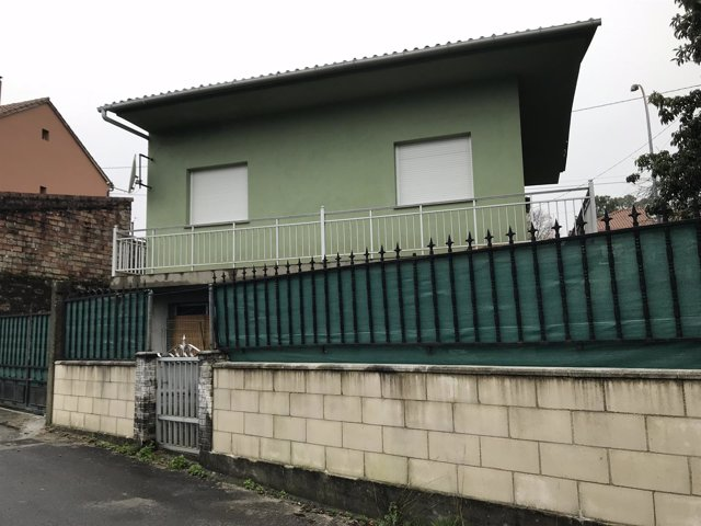La casa en Taragoña del detenido en relación con el caso Diana Quer