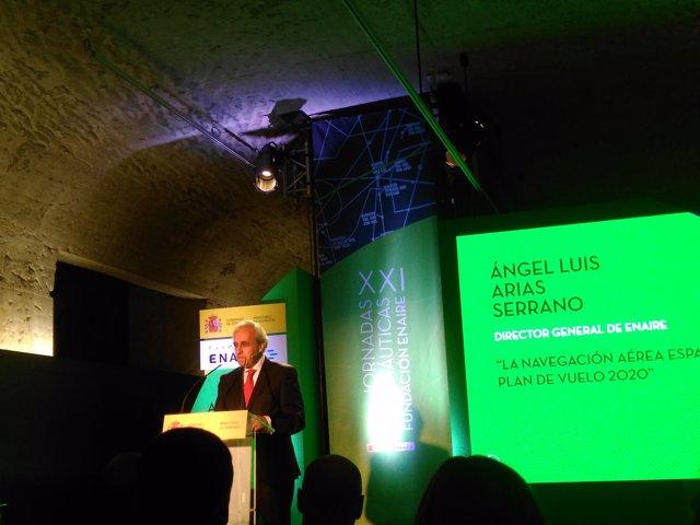 Director general de ENAIRE, Ángel Luis Arias Serrano