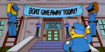Los Simpson inspiran un ingenioso plan policial que acaba con el arresto de 21 delincuentes